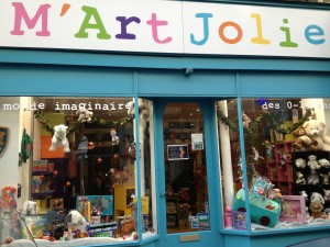 M'Art Jolie Boutique de jouets Paris 17